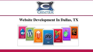 Website Development In Dallas, TX