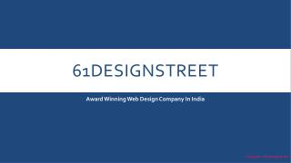 Award Winning Web Design Company 61 - Welcomes You