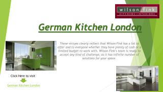 German Kitchen London