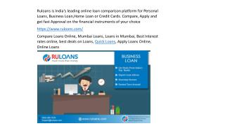 Compare Loans Online | Customized Loan Services | Expert Loan Consultants Mumbai | Borrow Right