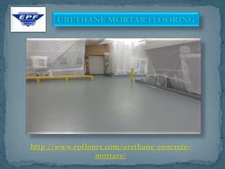 Urethane Mortar Flooring