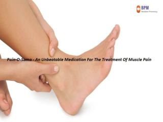 Pain-O-Soma - An Unbeatable Medication For The Treatment Of Muscle Pain