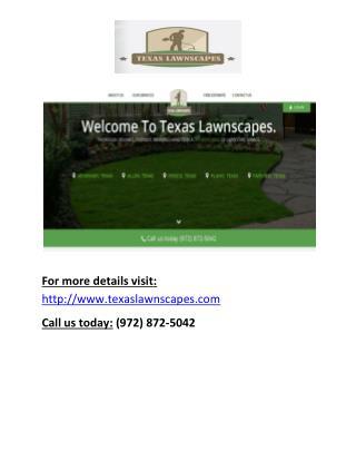 Lawn Care Service Mckinney Tx