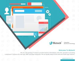 Biztech Consulting & Solutions Company Brochure