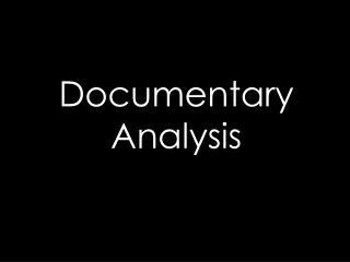 Types of Documentary's- Supersize Me