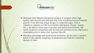 Best Website Designing Company in Gurgaon