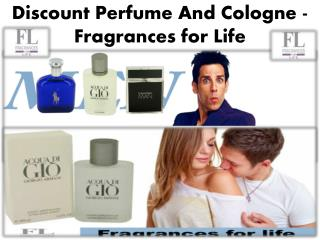 Discount Perfume And Cologne - Fragrances for Life