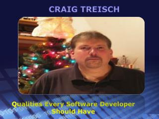 Craig Creisch - professional skill every mobile developere should have