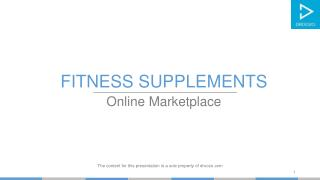 Shop Sports and Fitness Supplements products online on Droozo.com