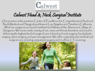 Facial Plastic and Reconstructive Surgery by Calwestent