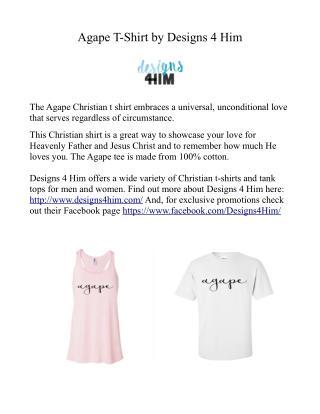 Agape Christian T-Shirt