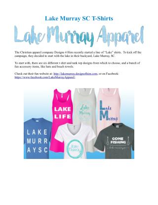 Lake Murray SC T-Shirts