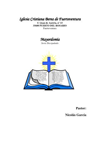 manual de mayordomia