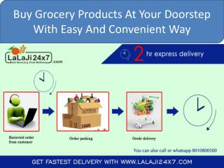 How Can be Shop With Lalaji24x7 Online Grocery Shopping?
