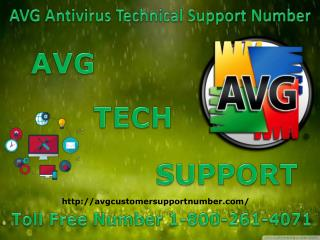 1-800-261-4071 AVG Antivirus Technical Support Number