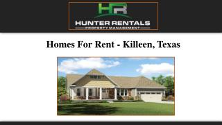 Homes For Rent - Killeen, Texas