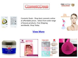 Cosmetic Deals | Cosmetic Deals Online | Makeup Deals: