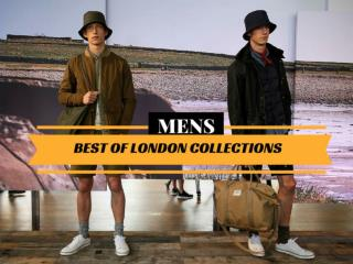 Best of London Collections: Men