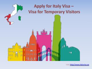 Italy Visa Process And Requirements