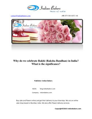 Why Do We Celebrate Rakhi or Raksha bandhan?