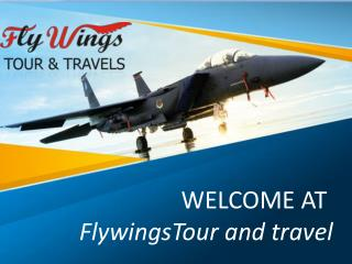 Flywingstour-International Tour and travel Operators in Chandigarh