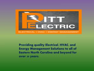 Electrical Construction & Maintenance Service in Greenville NC
