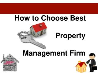 How to Choose Best Property Management Firm