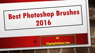 Best Photoshop Brushes 2016 - Introduce photoshop brushes