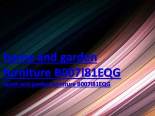 home and garden furniture B007I81EQG