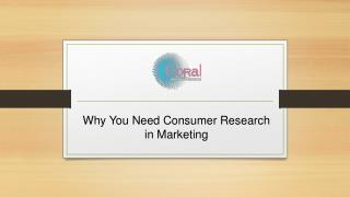 Why You Need Consumer Research in Marketing