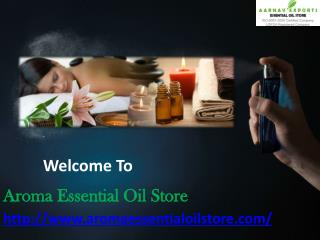 Natural traditional India Attars at Aroma Essential Oil Store