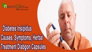 Diabetes Insipidus Causes, Symptoms, Herbal Treatment Diabgon Capsules