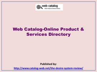 Online Product & Services Directory