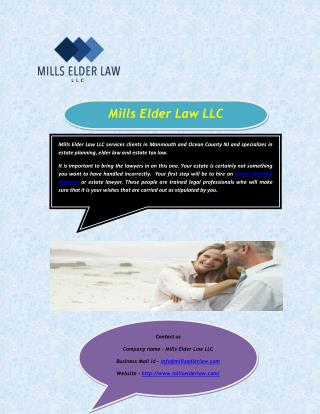 Find Estate planning attorney in NJ