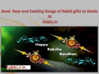 Send  New and Exciting Range of Rakhi gifts to Noida At Rakhi.in!