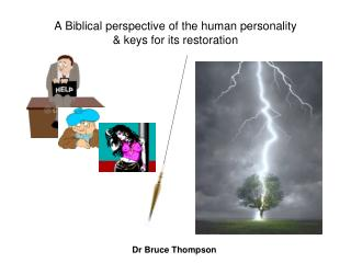 A Biblical perspective of the human personality  keys for its restoration