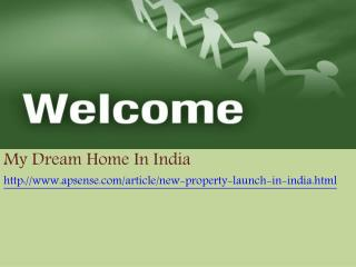 New Project Launch in India