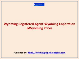Wyoming Coperation &Wyoming Prices