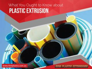 Co-extruded Plastic Extrusions and Its Benefits