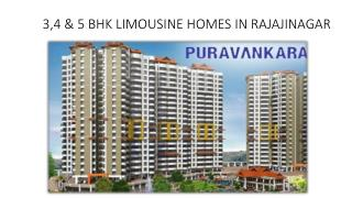 Limousine Homes - Apartments in Rajajinagar