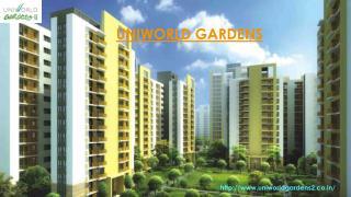 Uniworld Gardens 2, Unitech Uniworld Gardens II Gurgaon