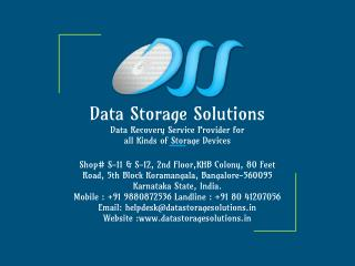 Data Recovery Services Bangalore