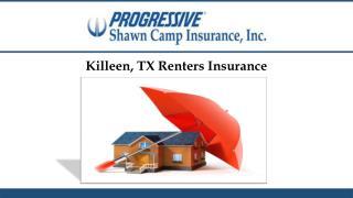 Killeen, TX Renters Insurance