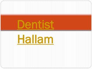 Dentist Hallam