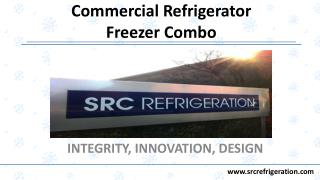 All In One Commercial Refrigerator Freezer Combo