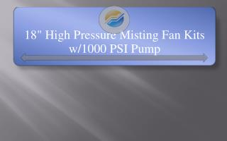 18-High-Pressure-Misting-Fan-Kits-w-1000-PSI-Pump