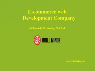 ecommerce web design company in usa