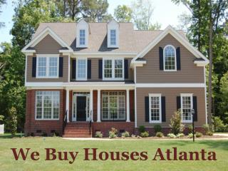 We Buy Houses Atlanta