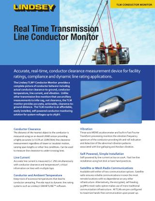 Real Time Transmission Line Conductor Monitor