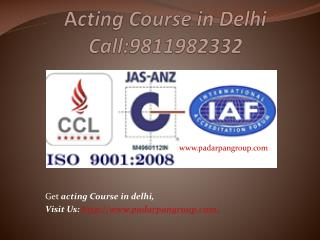 Acting Course in Delhi, Top 5 Acting Schools in Delhi, Film Institute Delhi, Acting College in Delhi